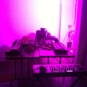 Xeno & Oaklander's live setup